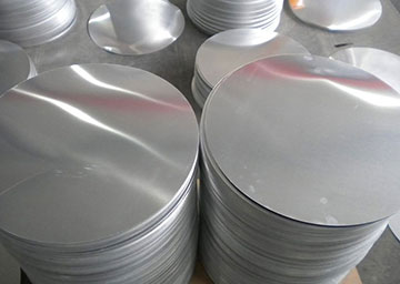 What are the properties of aluminum disc